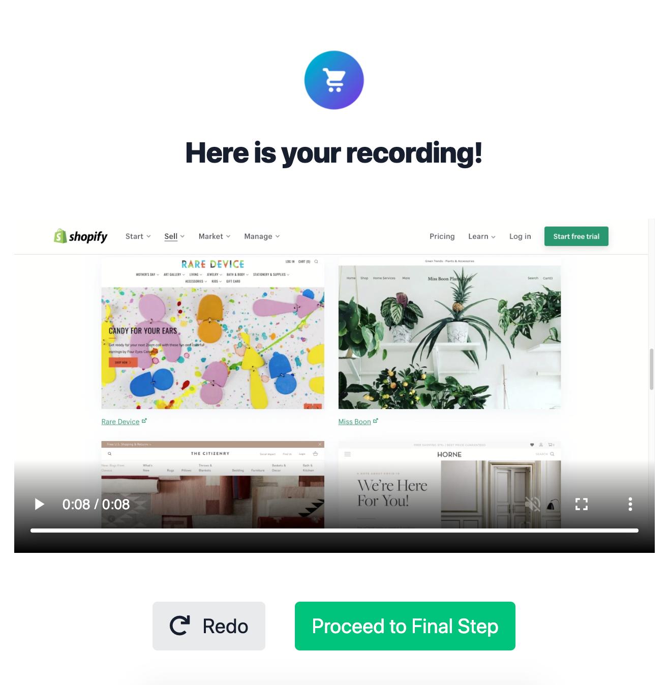 Easy Screen Recording