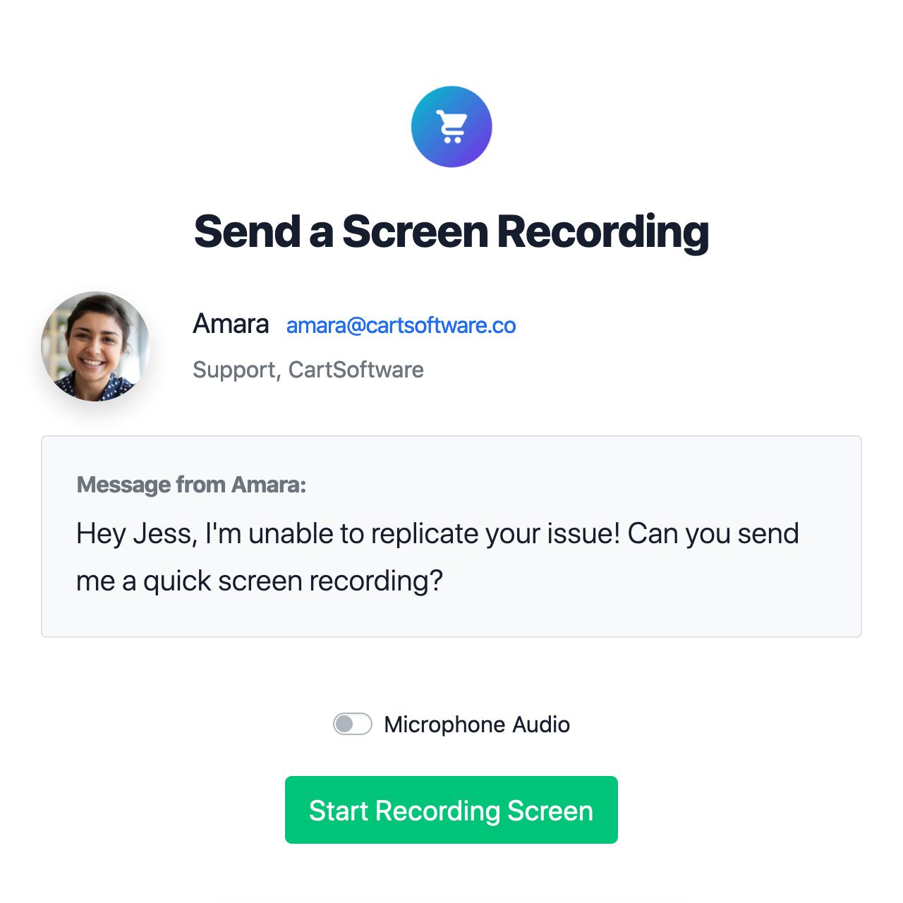 Screen Recording Demo